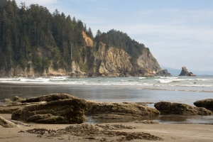 Oswald West State Park,, formerly Short Sand Beach, dedicated in the Governor's honor in 1958.