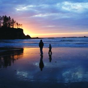 Sunset Bay beach on the South Coast